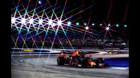 アルボン、ボッタスを抜けずにイライラ@F1シンガポールGP