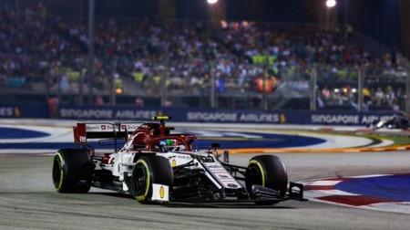 ジョビナツィ、3度目の優勝@F1シンガポールGP