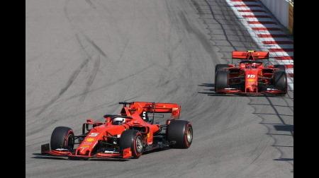 F1ロシアGPでドライバーを管理できなかったフェラーリ、叩かれる