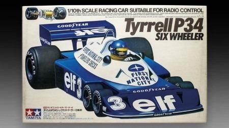 グロージャン、ティレルP34のプラモデルをつくる@F1日本GP土曜日