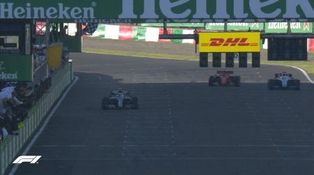 チェッカーの問題で1周減算に@F1日本GP