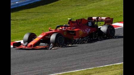 ルクレールに5秒+10秒加算&ペナルティポイント「2」@F1日本GP