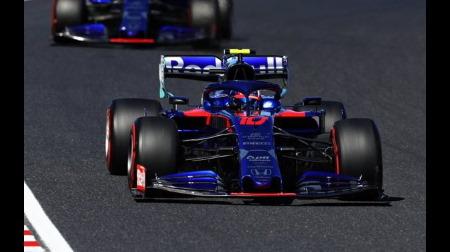 ガスリー、トロロッソで好調@F1日本GP