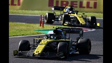 ノリスのレース後インタビューにアルボンが乱入@F1日本GP