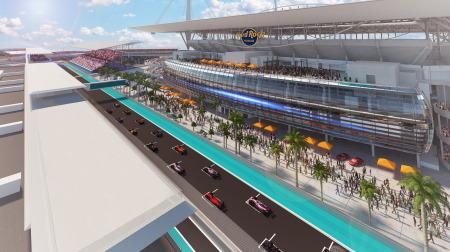 F1マイアミGP、F1とハードロック・スタジアムが開催合意