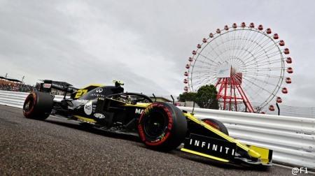 ルノー、F1日本GP失格に