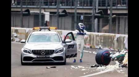 ボッタス予選で大クラッシュ@F1メキシコGP