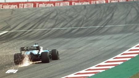 COTA、サーキットに激しいバンプ@F1アメリカGP初日