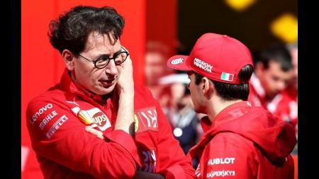 フェラーリ首脳がフェルスタッペンに反論