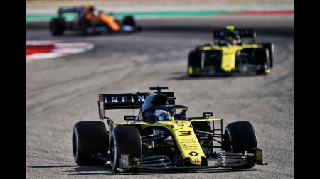 ルノーF1が戦略を決めてW入賞@F1アメリカGP