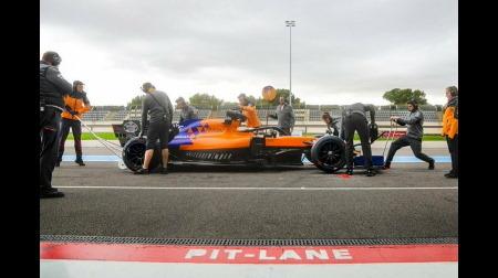 マクラーレンとルノーが18インチホイール&タイヤをテスト