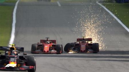 同士討ちについてフェラーリのビノットがコメント@F1ブラジルGP決勝