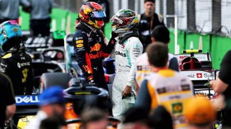 ハミルトン、メールでもアルボンに謝罪@F1ブラジルGP決勝での接触の件