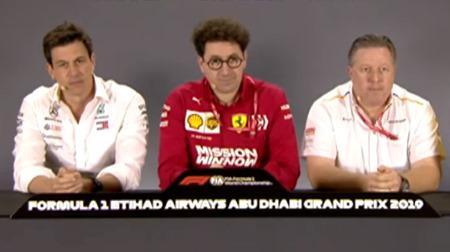 マクラーレンのザク・ブラウンに突っ込んだ質問@F1アブダビGP