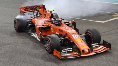 フェラーリに50000ユーロの罰金@F1アブダビGP