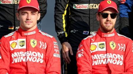 フェラーリ「2020年もルクレールとベッテルを自由に戦わせる」