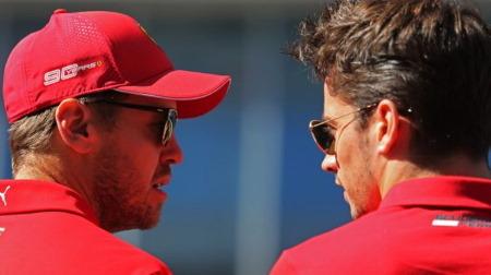 フェラーリ、ベッテルのパフォーマンスに決断?