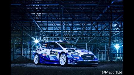 M-Sport、フォード・フィエスタWRC2020を公開