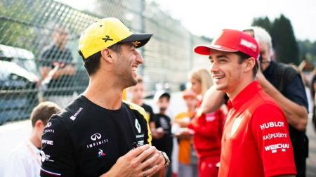 リカルド「フェラーリ候補と言われてうれしい」