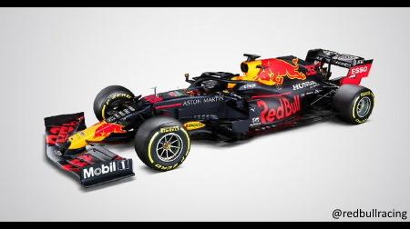 レッドブル2020新車RB16が公開