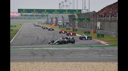 F1中国GP、中止ほぼ確