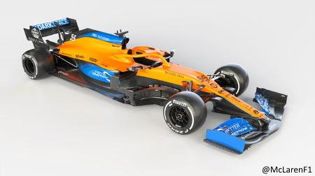 マクラーレンの2020新車「MCL35」
