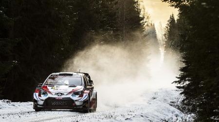 2020年WRC第2戦スウェーデンDAY1結果