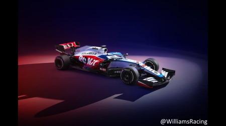 ウィリアムズの2020新車FW43