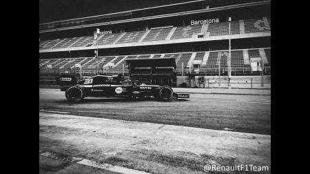 ルノー、バルセロナで新車R.S.20をシェイクダウン