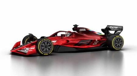 ホイールベース伸びすぎて巨大化してしまった現代F1マシン