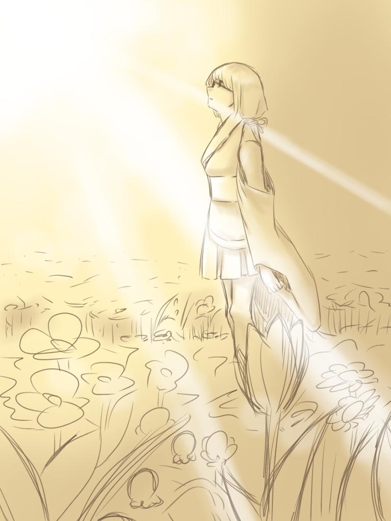 ミカコちゃんと黄色