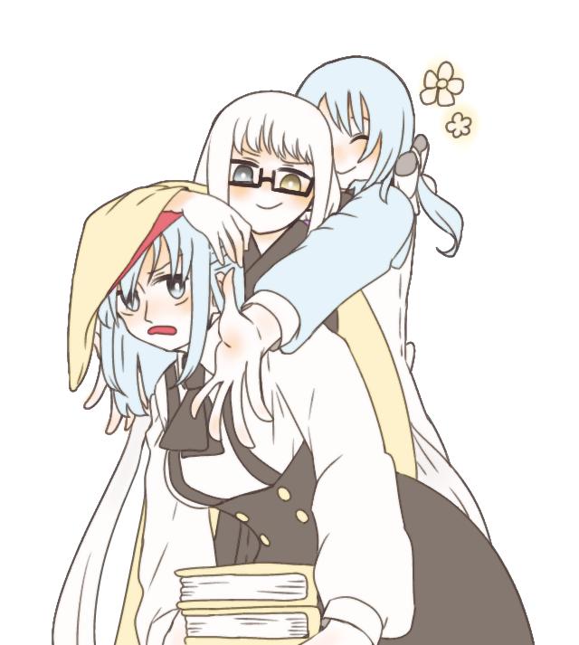 三姉妹(デッサン崩壊)