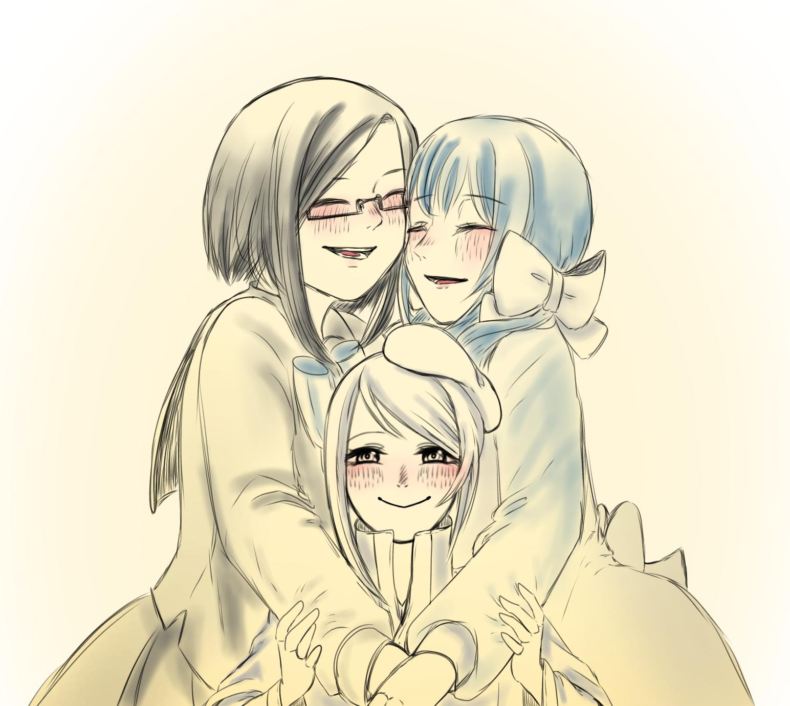 幸せ家族〜!
