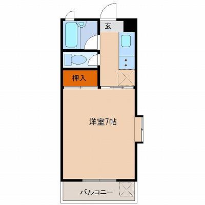 テヅカセイゾンハイツ(401)