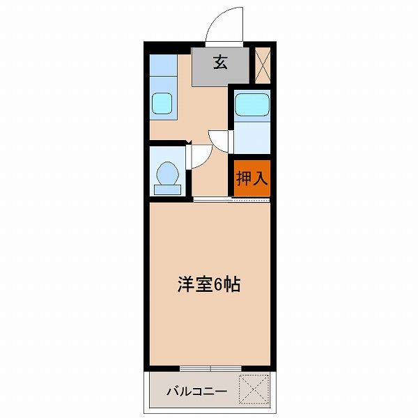 ヒルトンマンション(2号室タイプ)