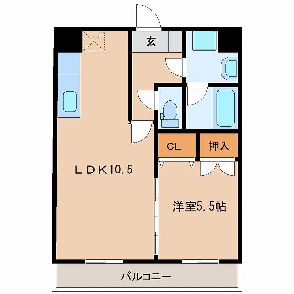 6番館(2号室・5号室タイプ)