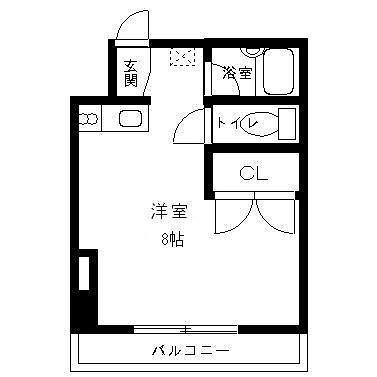 ルミナス松山 3号室