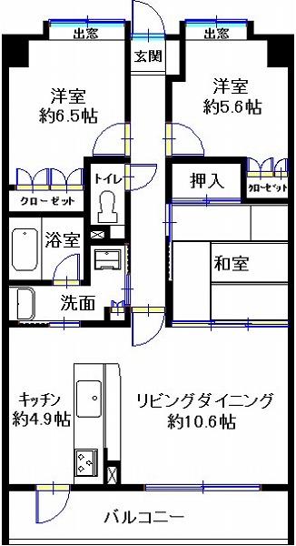 コアマンションリバーサイド橘公園通り1103(牟)