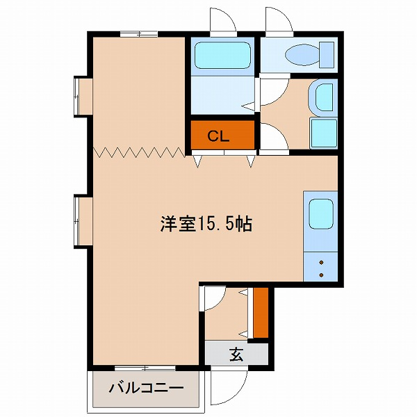 エル・シーズⅣ(2号室)