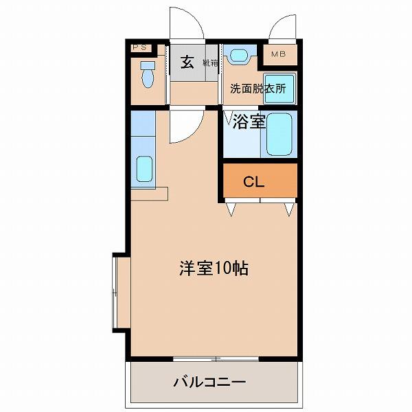さくらマンション 403号室 間取
