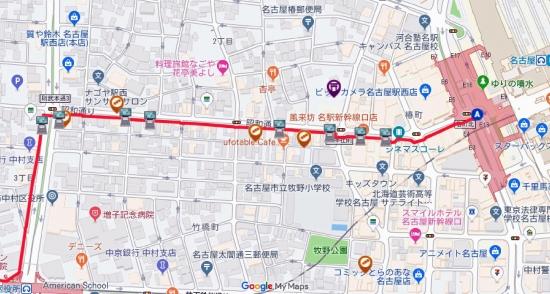 00-20190801 秀吉出世レリーフ 駅西銀座通り