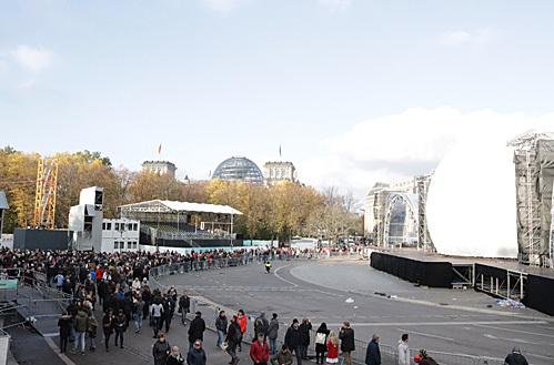 ベルリンの壁崩壊30周年記念セレモニー