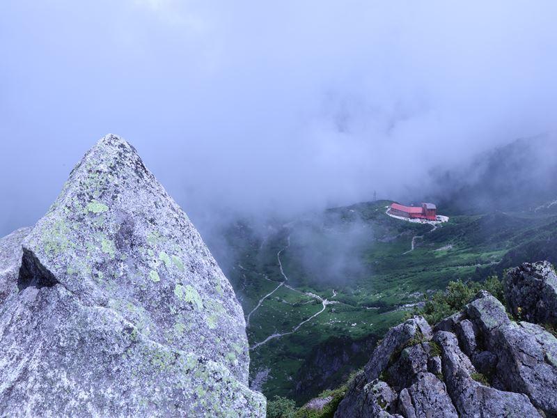 宝剣岳からの眺め