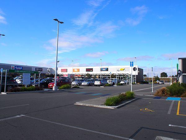 クライストチャーチの複合商業施設