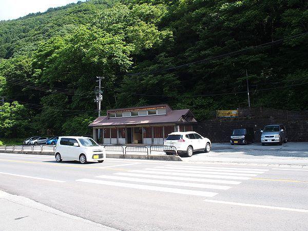 関山大滝の駐車場