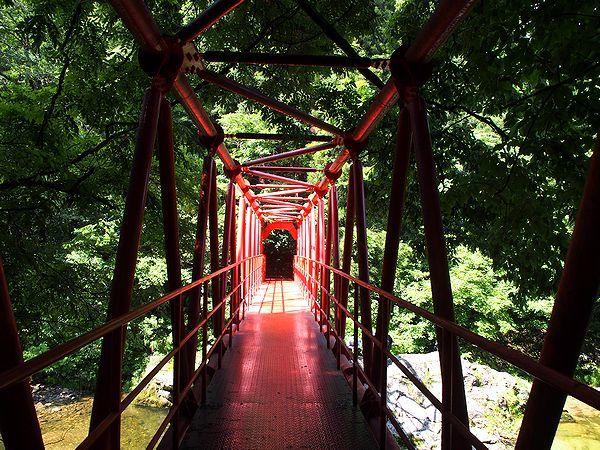 関山大滝への遊歩道