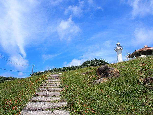 西崎への道