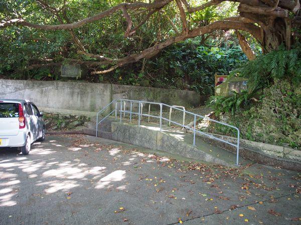ティンダバナの駐車場