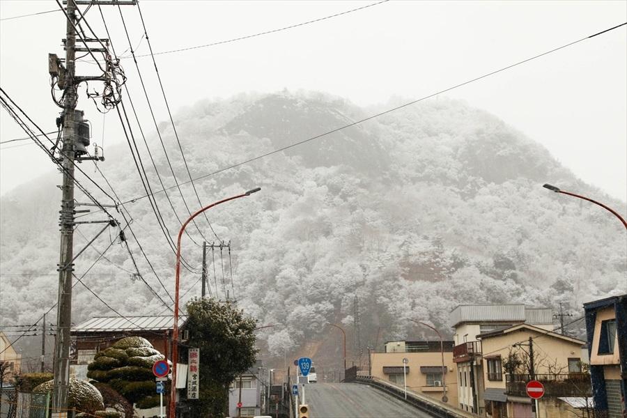 2020.1 初雪 岩殿山