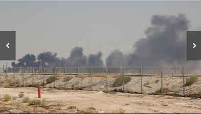 20190916攻撃されたサウジアラビア石油パイプライン